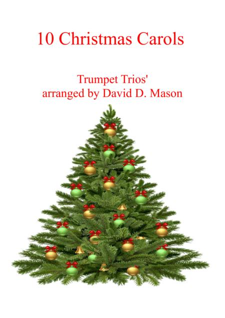 10 Christmas Carols For Trumpet Trio Piano Sheet Music PDF ...