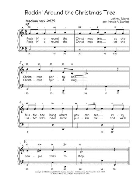 Rockin Around The Christmas Tree Sheet Music PDF Download ...