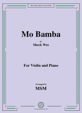 Mo Bamba For Violin And Piano